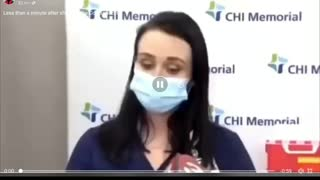 Collapses after taking Vaccine - Watch it all