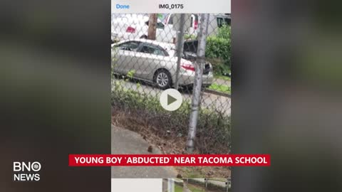 Washington Amber Alert: Young Boy Abducted Near Tacoma School