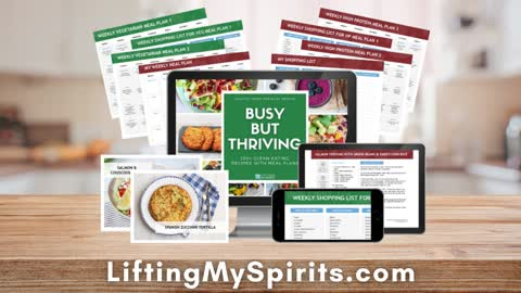 Busy But Thriving eCookbook - What's in it?