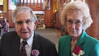 Cute Elderly Couple Keep It Real About Their Long Marriage - Video