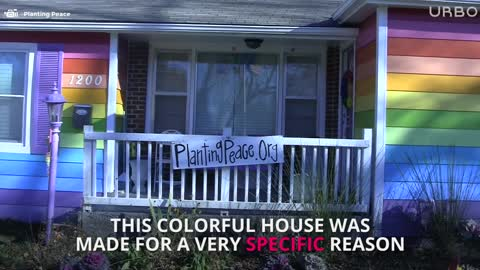 Spite Houses: The Rainbow Equality House