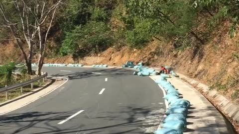 Downhill Racers Wreck