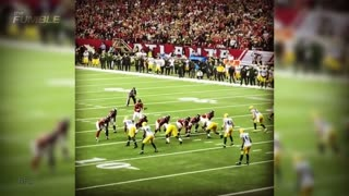 Aaron Rodgers LEVELED by Brian Poole, SHOVES Robert Alford - Video