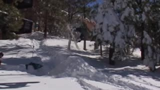 The best snowboarding and skiing fails - Video