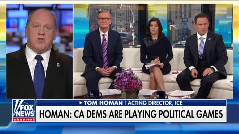 ICE Director BLASTS Pelosi For Calling Agents Cowardly