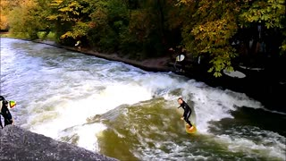 Surfing in Germany - Video