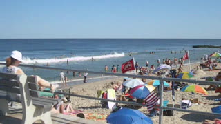 OCEAN GROVE PIER VIEW - NJ New Jersey Shore Beach Travel - Video