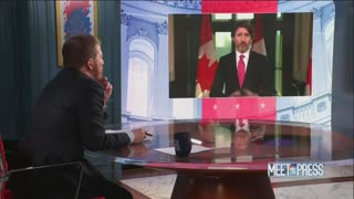 "Justin Trudeau On ""Meet The Press"""