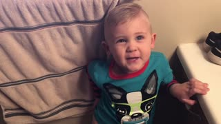 Little boy has a very interesting request at potty time! You won't believe what he asks for!  - Video