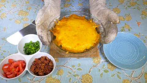 Delicious recipes: Loaded up beef pie