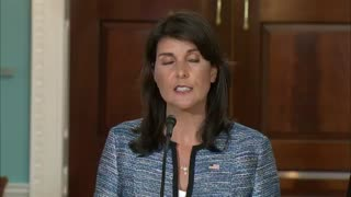 Nikki Haley announces U.S. withdrawal from UN Human Rights Council
