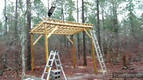 Off Grid Cabin - Working on the Container Cabins walls - Part 2