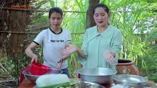 Blue Crab Dried Steam Glass Noodle Recipe - Cooking With Sros
