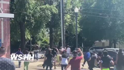 Columbia, SC: Man Wearing A MAGA Hat Gets Stomped Out By Protesters!