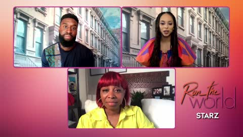 Tosin Morochunfola and Amber Steven West talk real couple problems dating in their 30's