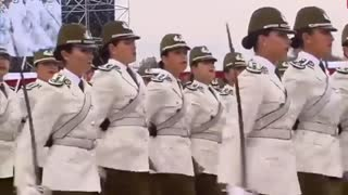 CHILE'S military parade