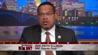 Rep. Keith Ellison Doesn't Agree With Trump Recognizing Jerusalem As Israeli Capital - Video