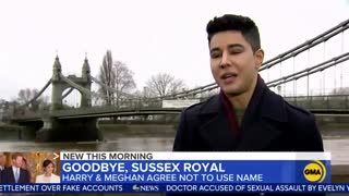 Prince Harry and Meghan will not use their 'Sussex Royal' brand