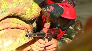 Shooting paintballs – not bullets – proves popular in Kabul - Video