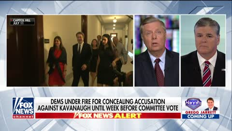 Graham: Democrats are trying to destroy Kavanaugh's life