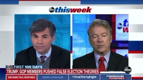 "Rand Paul Destroys Stephanopoulos On ""The Big Lie"" And Liberal ""Journalists"""