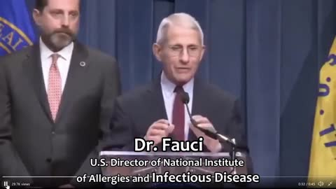 Fauci: Asymptomatic transmission has never been the driver of outbreaks