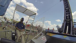 Ring of Fire Midway County Fair Carnival Ride with GoPro Hero3 Black Edition Camera - Video