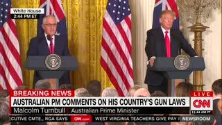 'Very Different Sets of Problems': Australian PM Talks Gun Control, Trump Responds - Video