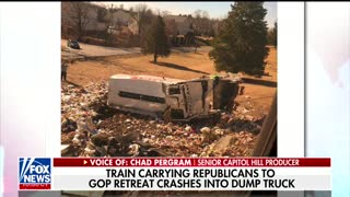 BREAKING NEWS: GOP Retreat Train Crash - Video