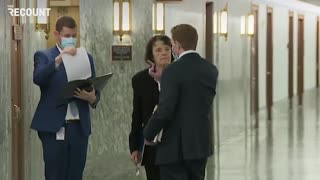 Sen. Dianne Feinstein (D-CA), without a mask Aagin 11/17/2020