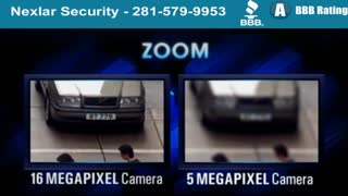 Install Houston Megapixel Security Cameras - IP Video Security Camera