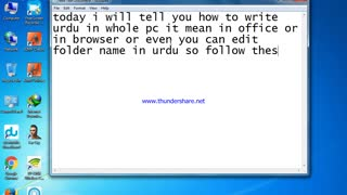 how to write urdu in pc - Video