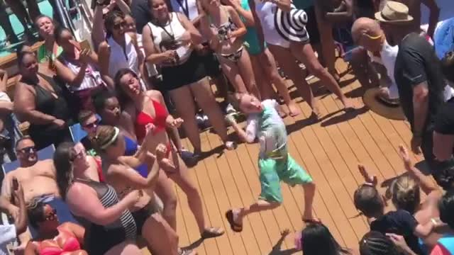 Eight-Year-Old Enters Dance-Off And Immediately Wins The Crowd Over - Video