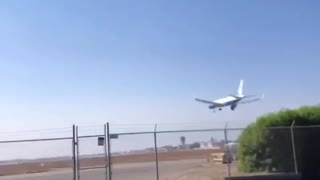 Perfect Timing! Video 2/2 POTUS Air Force One Flyover in California.