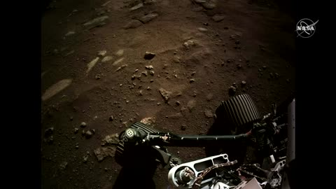NASA Mars rover sends home video; first audio from red planet