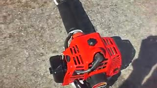 grass cutting machine motor starting - Video