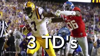 Leonard Fournette DESTROYS Ole Miss Defensive Back - Video