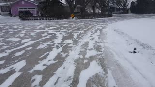 Ice Skating Through the Streets of Regina