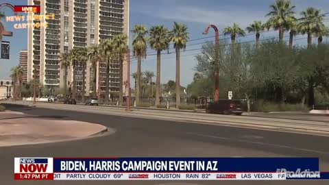 Not One Person Showed Up To The Rally BIDEN/HARRIS