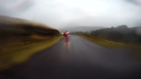 Downhill skateboarding reaches extreme speeds