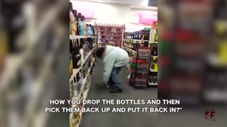That Awkward Moment When You're Caught Stealing - Video