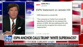 Tucker Carlson Hits Back ESPN's Jemele Hill Racist Statement To Donald Trump! - Video