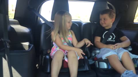 Adorable conversation between cousins turns ugly