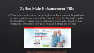 Zyflex Male Enhancement Supplement Side Effects and Scam - Video