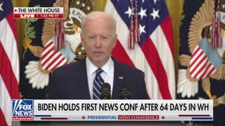 Joe Biden press conference
