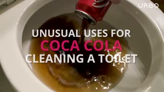 Cleaning with Coca-Cola: Toilet Bowls - Video
