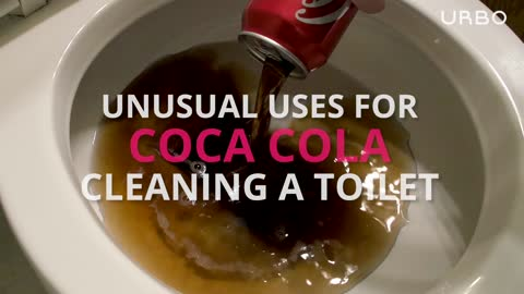 Cleaning with Coca-Cola: Toilet Bowls