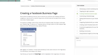 Facebook Marketing - Bookmark - Video
