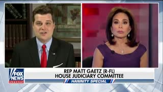 "Rep Matt Gaetz: ""If Sessions doesn't appoint a second special counsel, we need a new AG"" - Video"