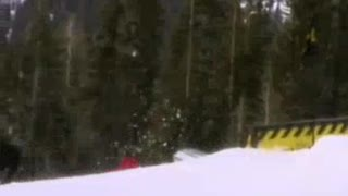 paragliding snowboarding - Video